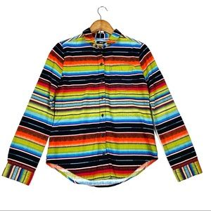Urban outfitters BDG rainbow southwest xs shirt